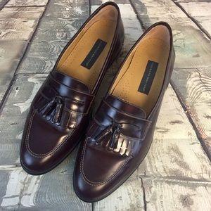 Giorgio Btutini Brown Leather Kiltie Tassel Sz 12D